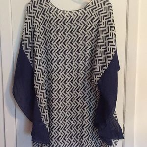 Tunic.  Cover Up